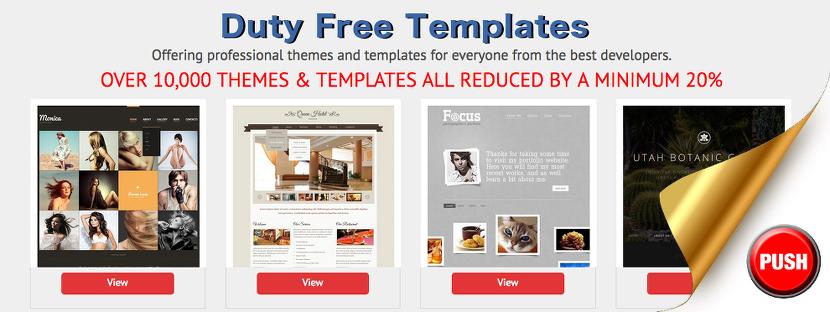 duty free templates